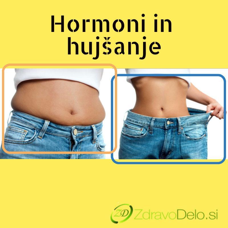 hormoni in hujsanje